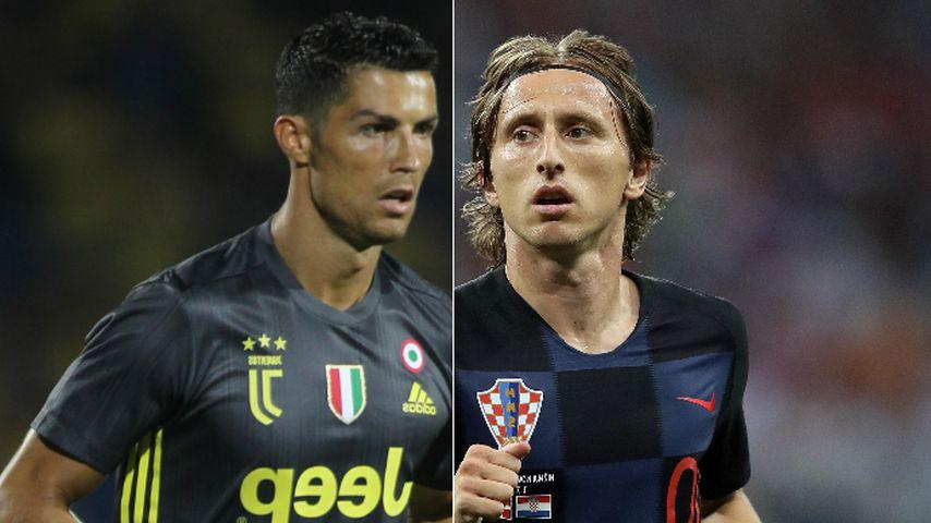 Neidisch? Ronaldo schießt gegen Neu-Weltfußballer Modrić!