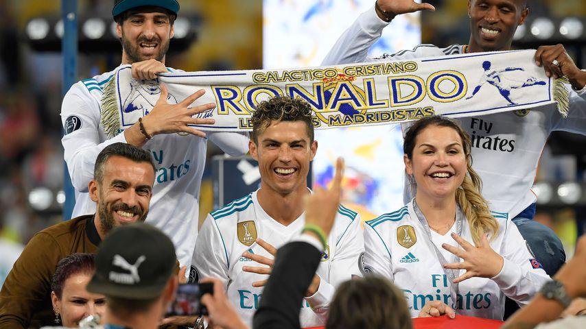 Cristiano Ronaldo und seine Schwester Katia Aveiro