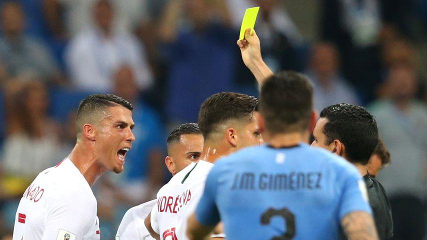 Cristiano Ronaldo beim WM-Spiel Portugal gegen Uruguay in Sotschi