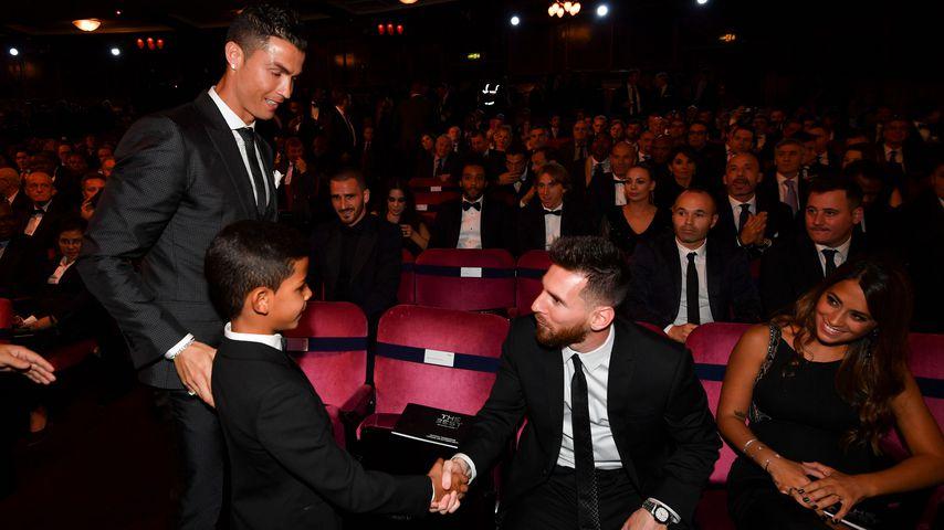 """""""Zu klein"""": Ronaldos Sohn hielt Lionel Messi nicht für echt"""