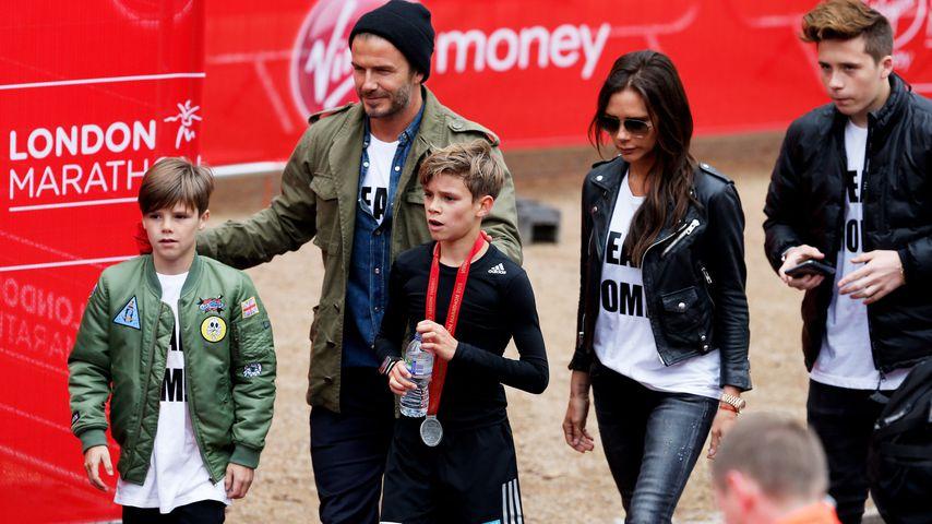 Stolz: Victoria Beckhams Sohn Romeo modelt für Luxus-Marke!