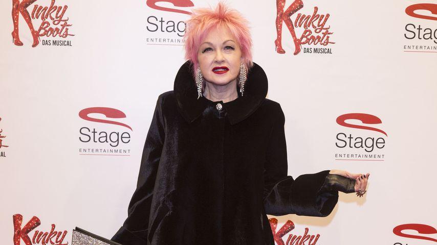 "Cyndi Lauper bei der ""Kinky Boots""-Musical-Premiere in Hamburg"