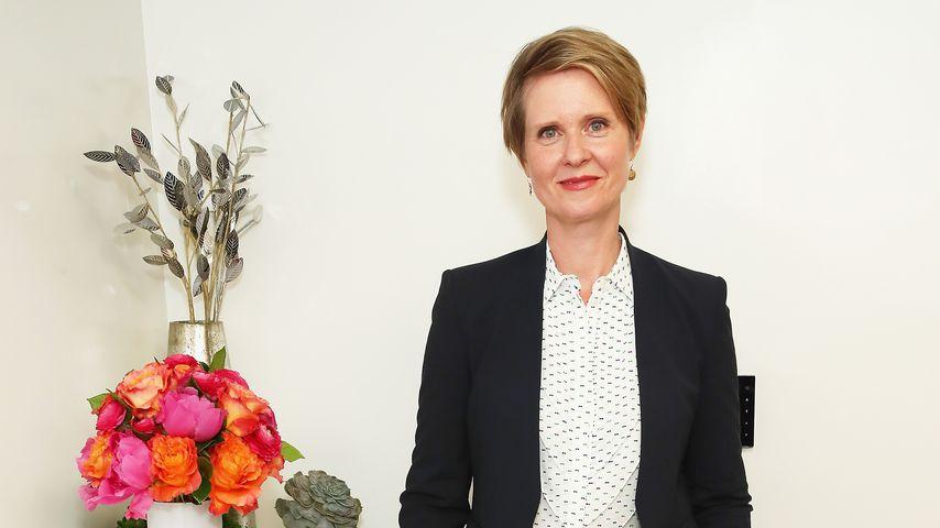 Cynthia Nixon in New York 2018