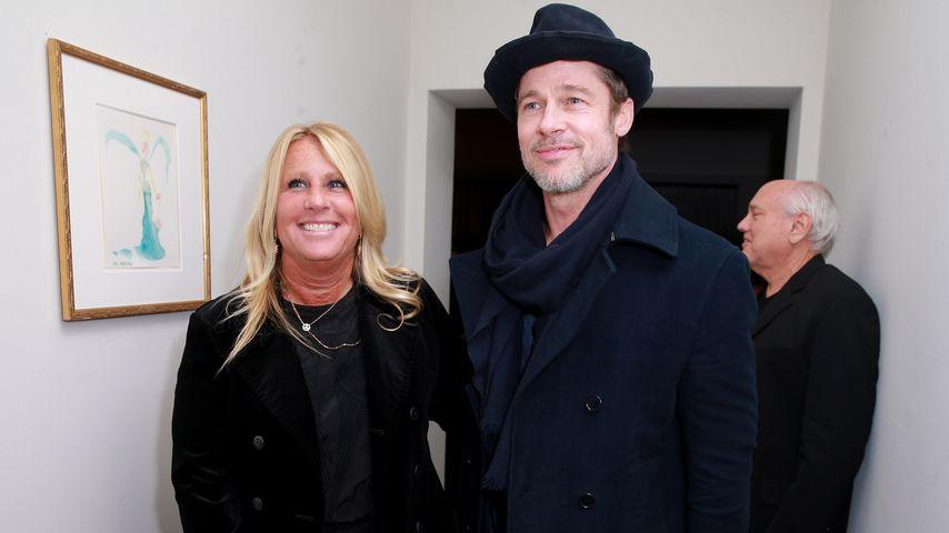 Cynthia Pett-Dante und Brad Pitt im März 2018 in Los Angeles