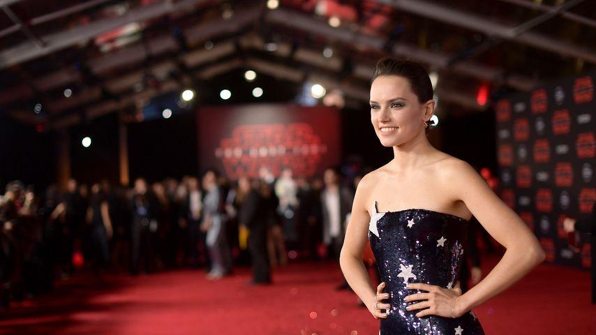 """Daisy Ridley bei der Premiere von """"Star Wars: Die letzten Jedi"""""""