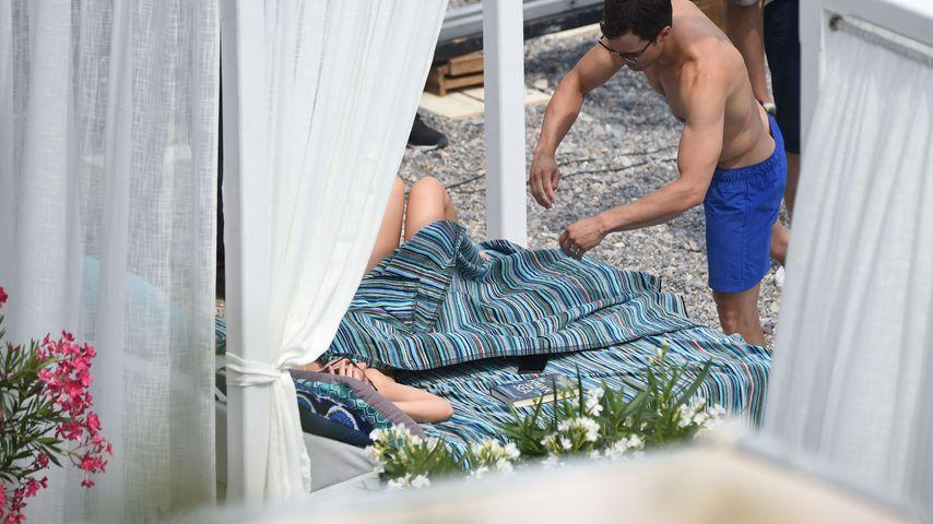 """Dakota Johnson und Jamie Dornan bei den Dreharbeiten zu """"Fifty Shades Darker"""""""