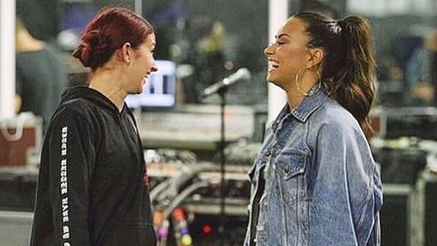 Dani Vitale und Demi Lovato