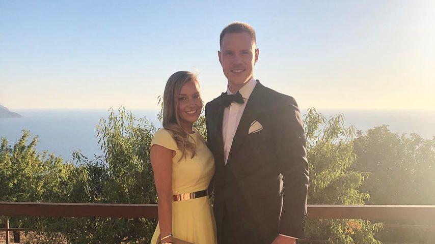 Dani und Marc ter Stegen bei der Götze-Hochzeit auf Mallorca