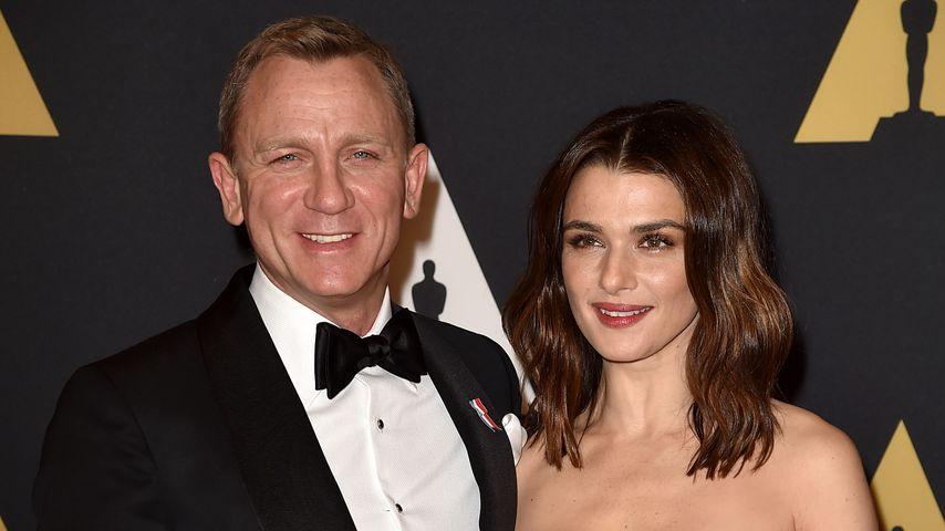 """Am Set von """"Spectre"""": Betrügt Daniel Craig seine Rachel?"""