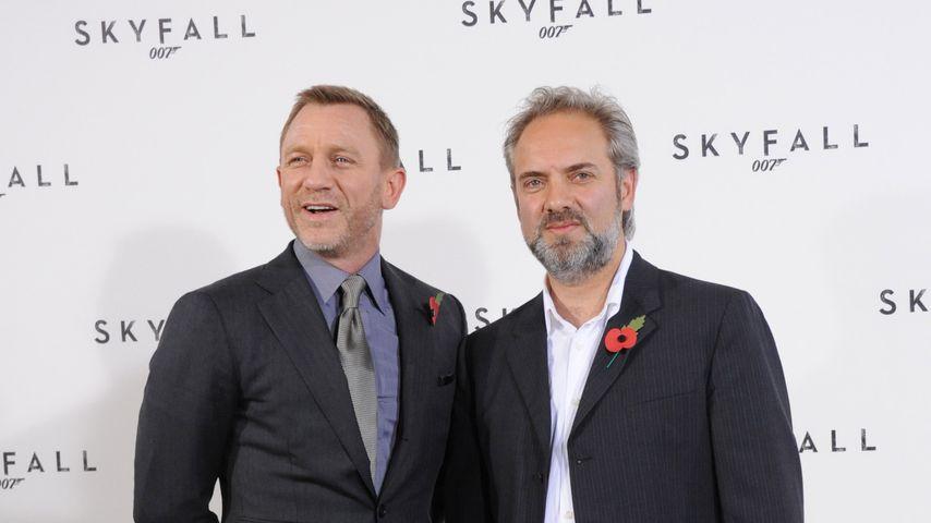 """Daniel Craig und Sam Mendes bei einem Photocall zu """"Skyfall"""""""