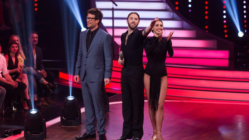 Daniel Hartwich, Gil Ofarim und Ekaterina Leonova bei Let's Dance