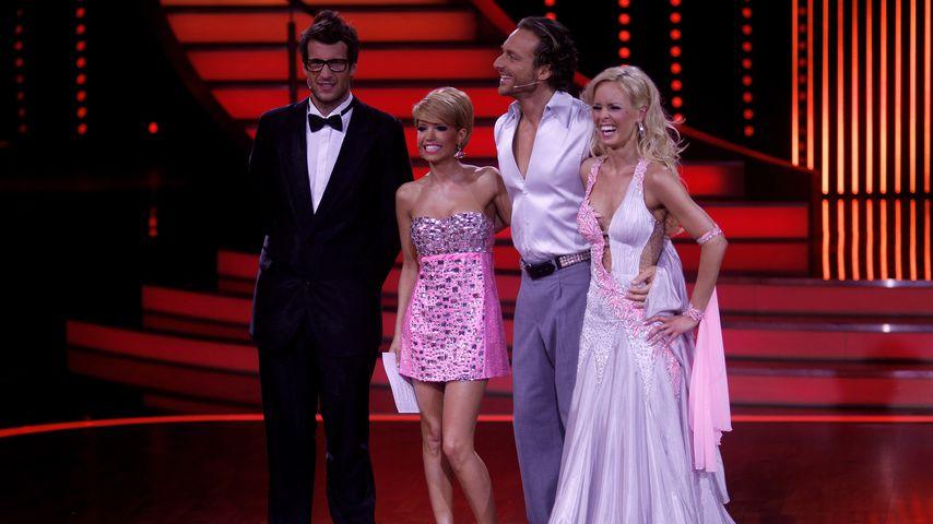 Daniel Hartwich, Sylvie Meis, Tim Lobinger und Isabel Edvardsson im Jahr 2011