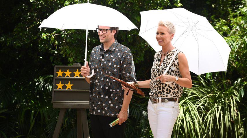 """Daniel Hartwich und Sonja Zietlow, """"Ich bin ein Star – Holt mich hier raus!""""-Moderatoren"""
