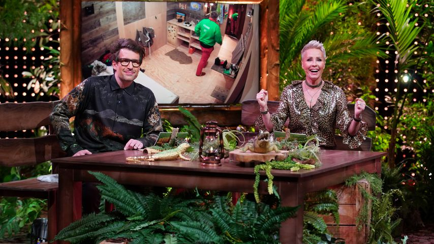 Daniel Hartwich und Sonja Zietlow in der Dschungelshow 2021
