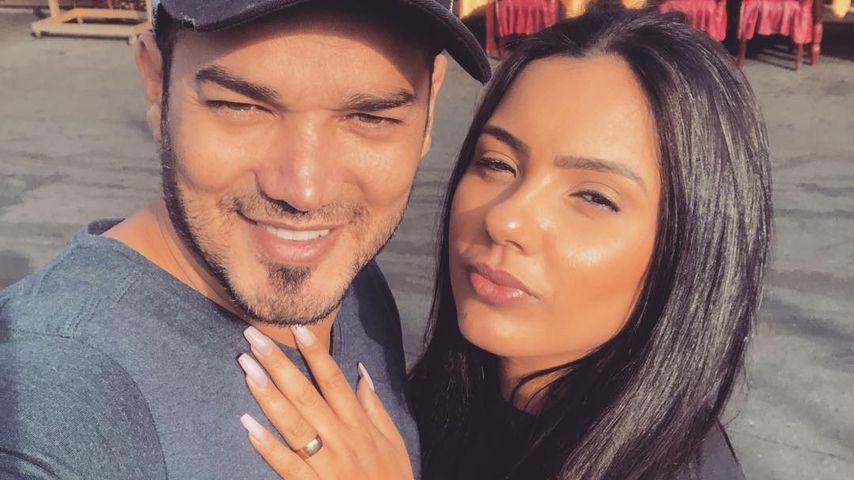 Daniel Lopes und seine Frau Magna im Januar 2019