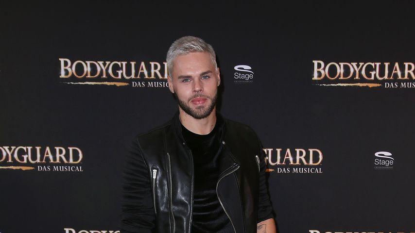 """Daniel Schuhmacher bei der Premiere von """"Bodyguard - Das Musical"""", September 2017"""