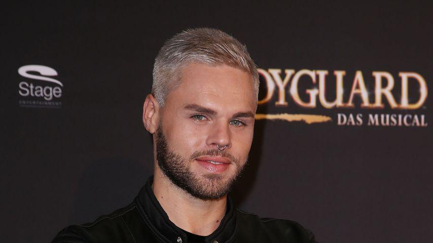 """Daniel Schuhmacher bei der """"Bodyguard – Das Musical""""-Premiere in Stuttgart"""
