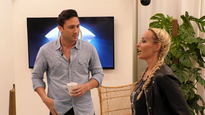 """Daniel Völz und Cora Schumacher im """"Promi Big Brother""""-Haus"""