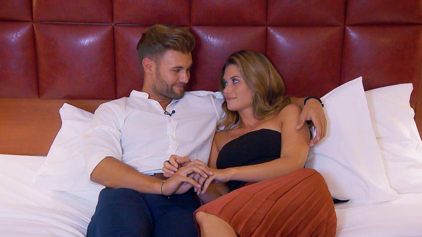 """Daniel Lott und Nadine Klein im Finale von """"Die Bachelorette"""""""