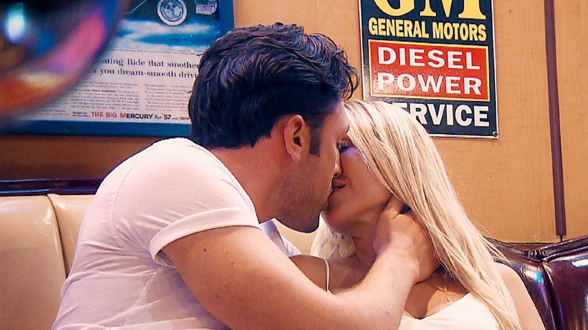 """Daniel Völz und Jessica Neufeld bei """"Der Bachelor"""""""