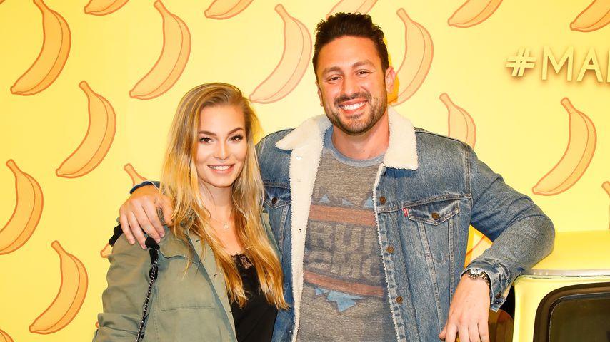 Daniel Völz mit Lisa bei einem Event in Berlin