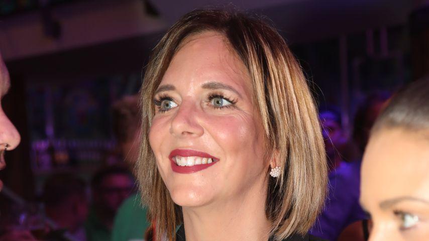 Daniela Büchner bei der Saison-Eröffnung im Megapark auf Mallorca, 2019