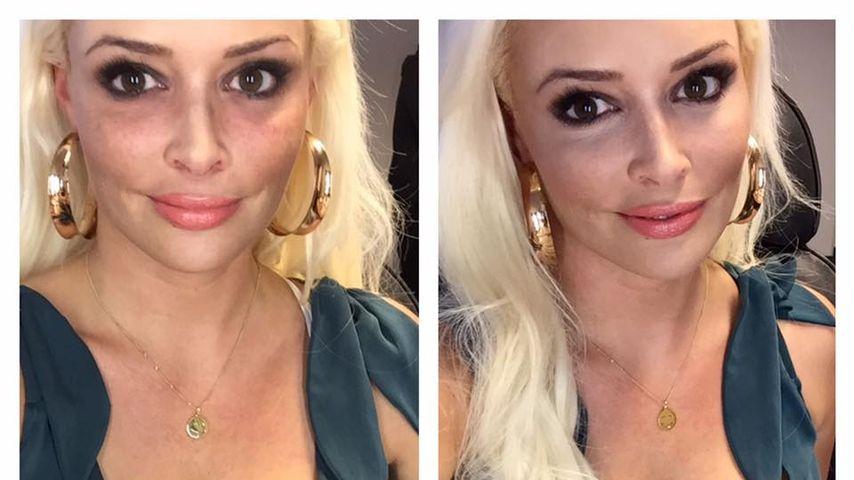 Übertreibt es Daniela Katzenberger mit den Schmink-Selfies?