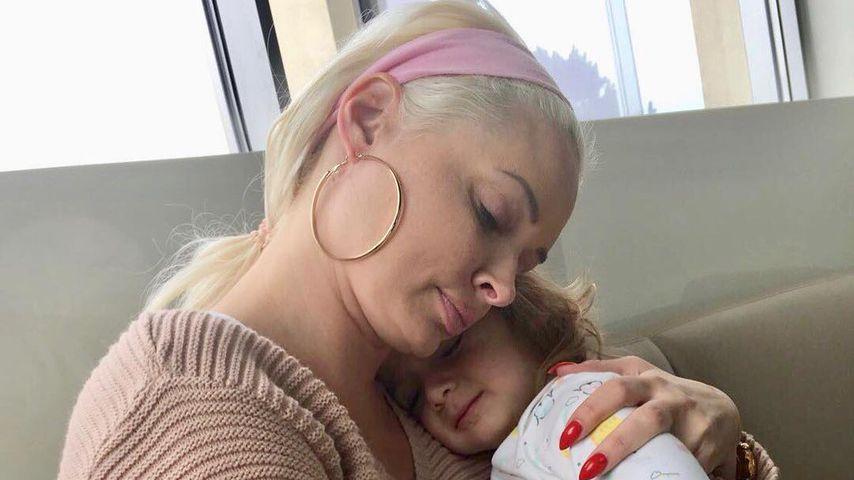 Daniela Katzenberger mit Töchterchen Sophia