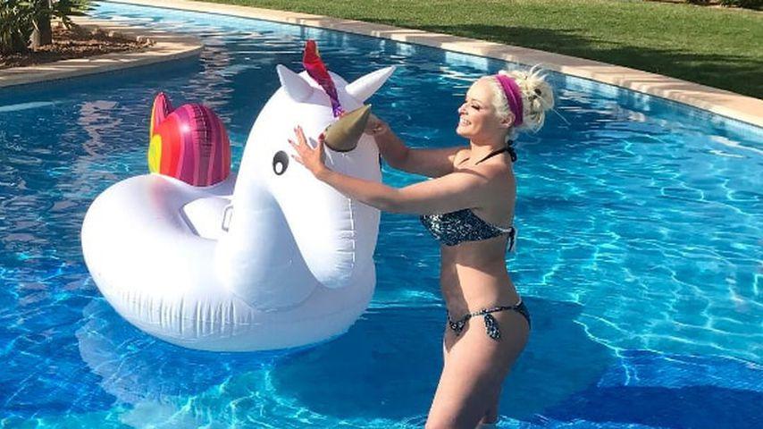Nach Baby-Gerücht: Dani Katzenberger kontert mit Bikini-Pic!
