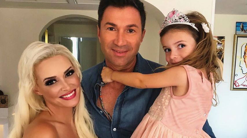 Daniela Katzenberger, Lucas Cordalis und ihre Tochter Sophia