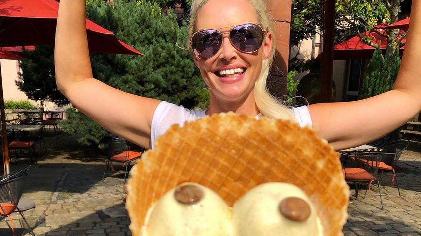 Eiskalte Aktion: Hier zeigt Daniela Katzenberger Brüste!