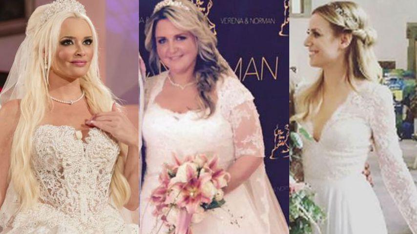 Echte Traumbräute: Die schönsten Promi-Hochzeitskleider 2016