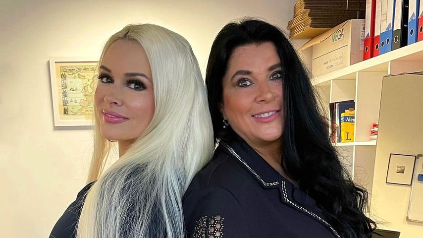 Daniela Katzenberger mit ihrer Mutter Iris Klein