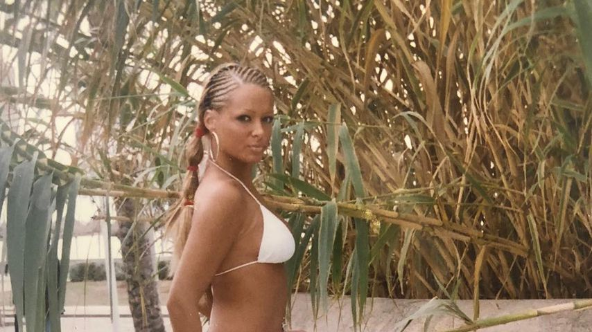 Daniela Katzenberger 2004 auf Mallorca