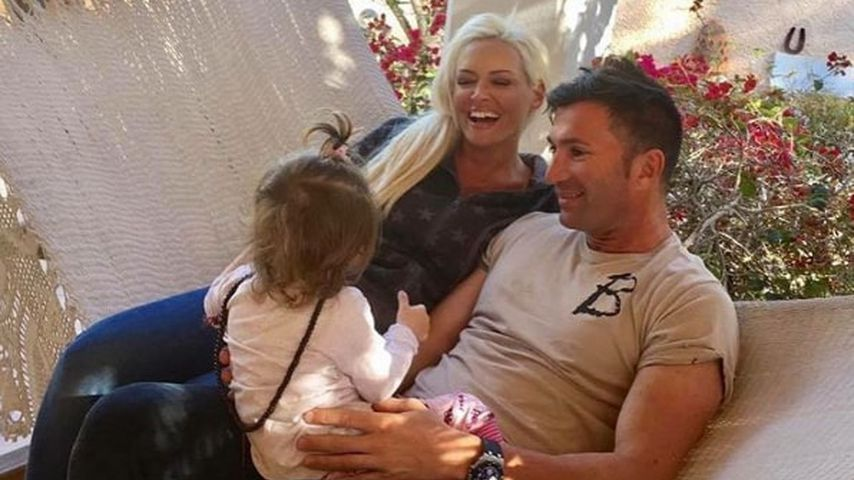 Daniela Katzenberger und Lucas Cordalis mit ihrer gemeinsamen Tochter Sophia