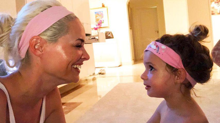 Daniela Katzenbergers Tochter Sophia zählt auf drei Sprachen