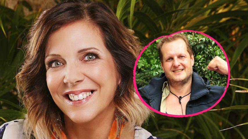 Gleiches Luxuszubehör: Danni will Jens im Dschungel nah sein