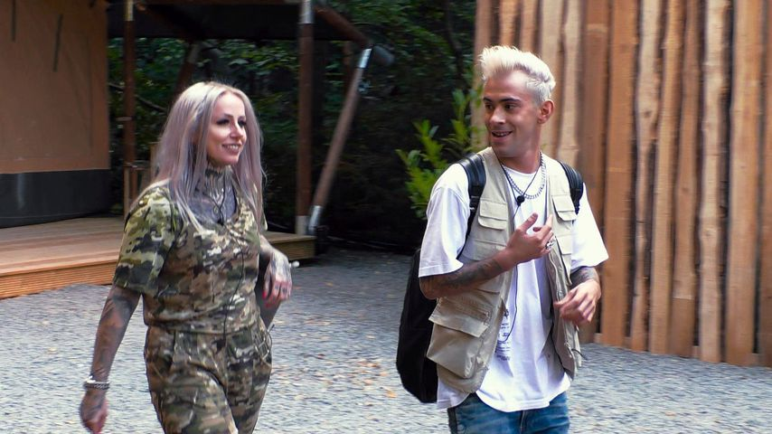 Daniele Negroni mit Freundin Laura