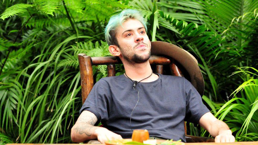 Daniele Negroni bei der Finalprüfung im Dschungelcamp