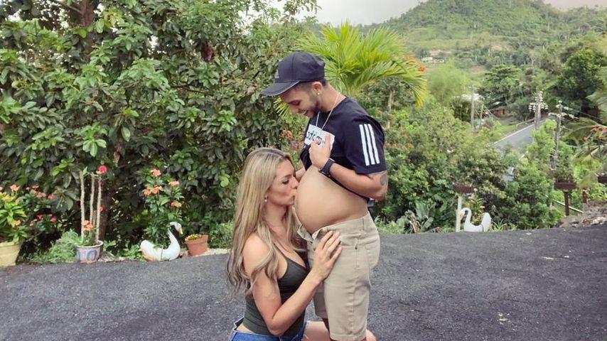Transgender-Model im Baby-Himmel: Ehemann ist schwanger!