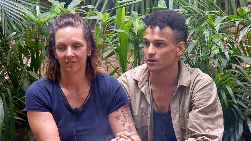 Danni Büchner und Prince Damien im Dschungel-Finale 2020