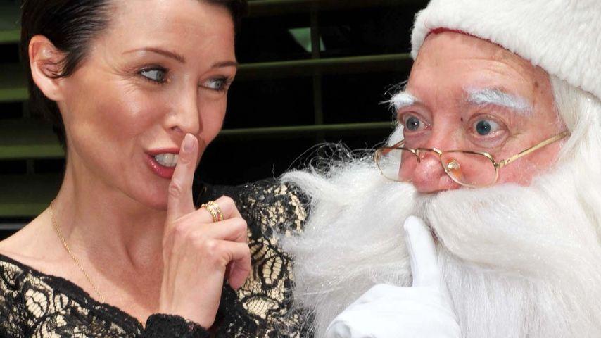 Spitze! Dannii Minogue betört den Weihnachtsmann