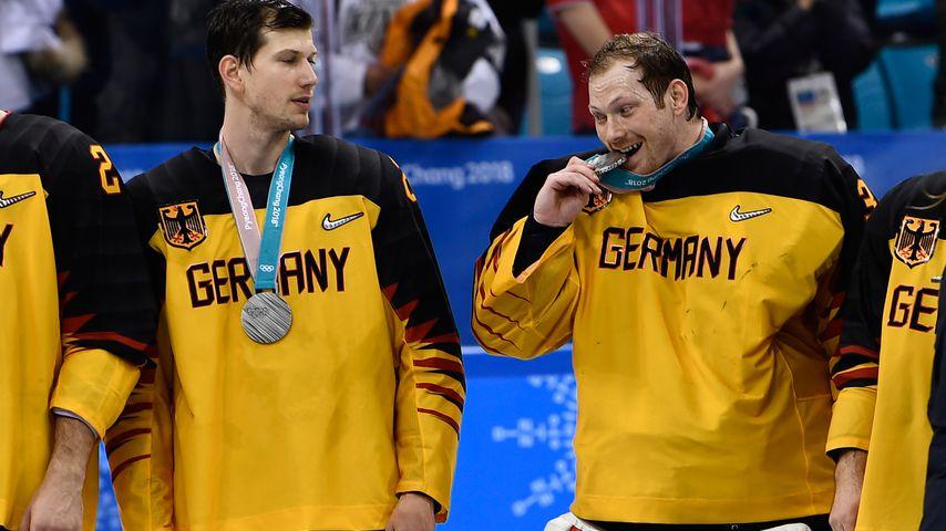 Danny aus den Birken (r) bei den Olympische Winterspielen 2018