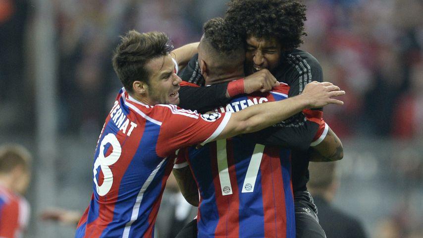 Jérôme Boateng, Mario Götze und Dante