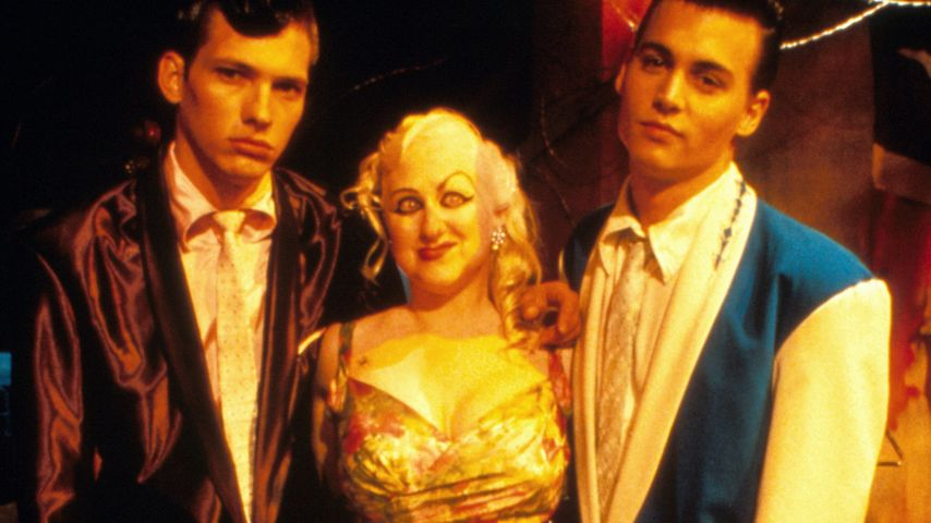 "Darren E. Burrows, Kim McGuire und Johnny Depp im Film ""Cry-Baby"""