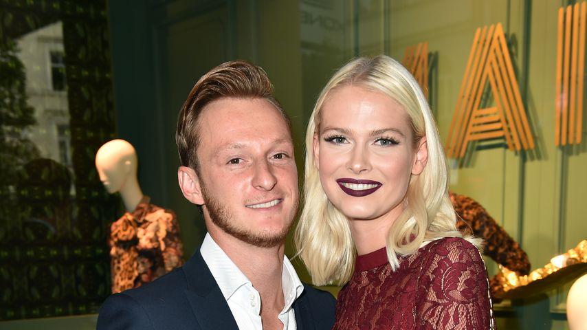 Darya Strelnikova und ihr Partner Roger