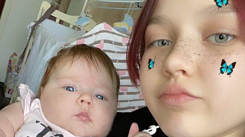 """Teenie-Mutter Darya sagt: Ihr Baby hat ihr """"Leben zerstört"""""""