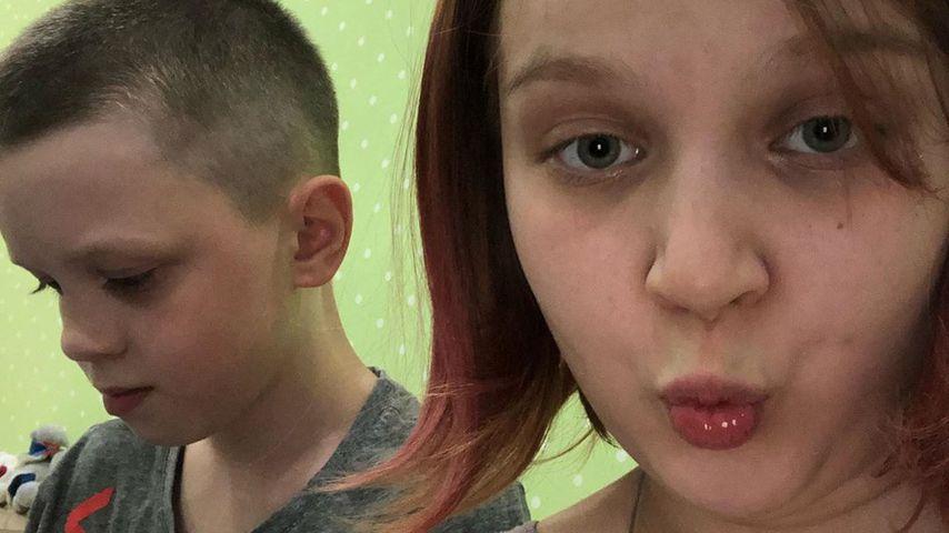Darya Sudnishnikova und ihr Freund Ivan im Jahr 2020