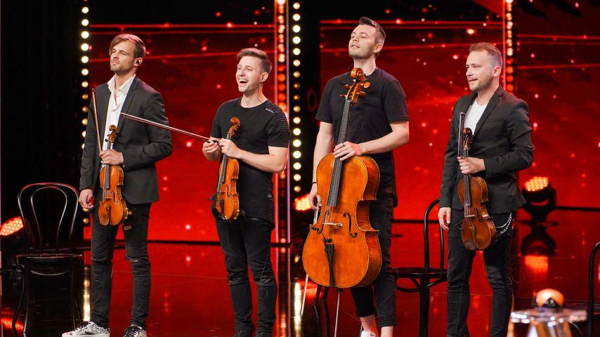 """Das """"De Facto Quartet"""" beim Supertalent 2019"""
