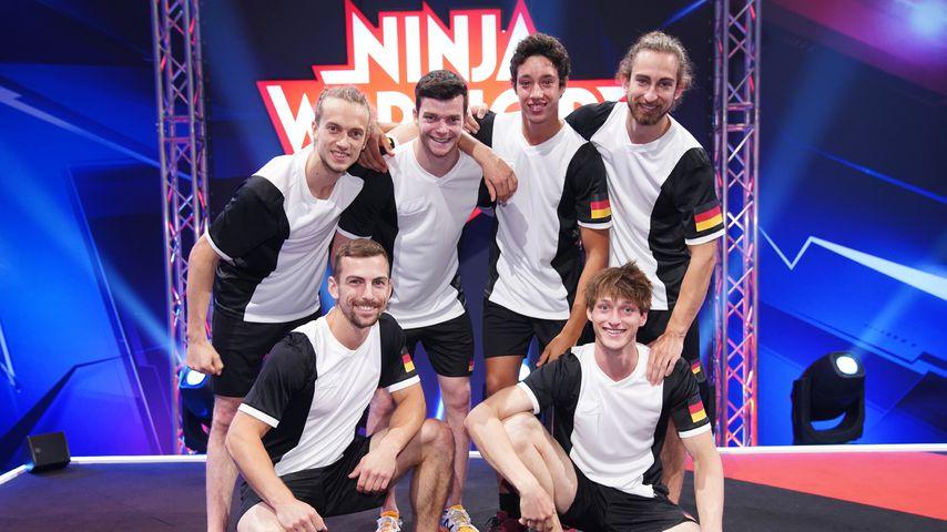 """Das deutsche Team aus """"Ninja Warrior Germany - 4 Nationen Special"""""""